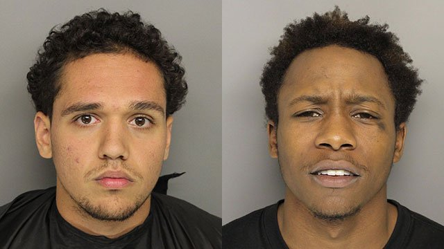 Jacob Lewis (left) and Kaiser Moss (right). (Source: Greenville Co. Detention Center).