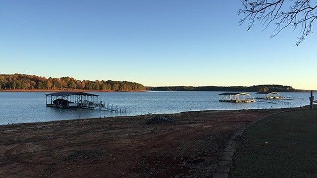 Lake Hartwell scene. (11/19/17 FOX Carolina)