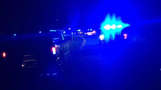 Scene of Anderson Co. crash (FOX Carolina/11/20/17)