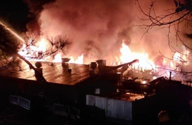 Sake Zen restaurant fire (Source: John Land)