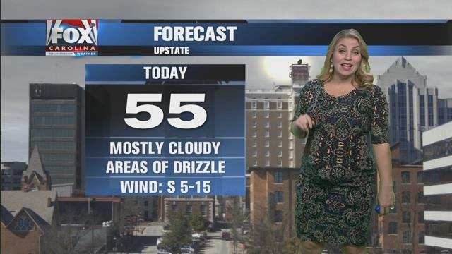 Nicole: Building clouds and patchy drizzle possible Tuesday