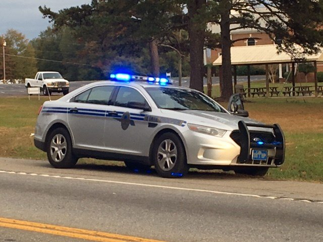 Scene of fatal crash in Anderson County (Nov. 21, 2017/FOX Carolina)