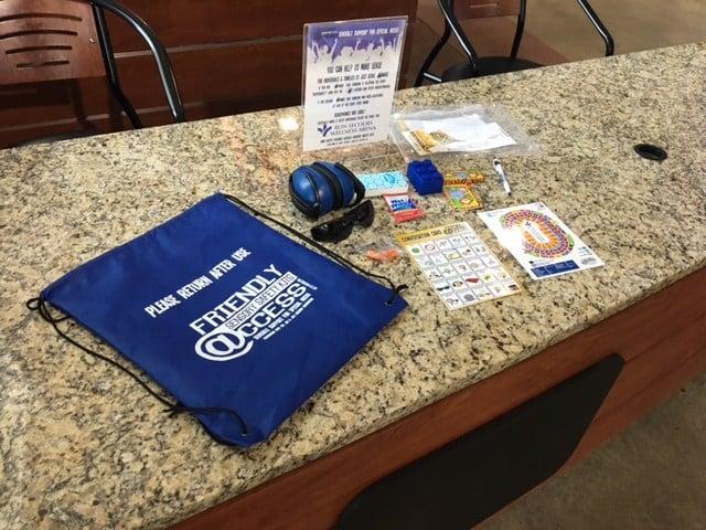 Bon Secours Wellness Arena debuts sensory kits for guests (FOX Carolina: 11/22/17).