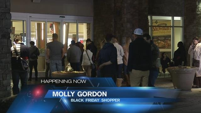 Black Friday shopping in the Upstate