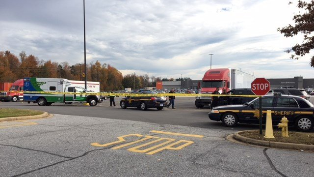 Deputies investigating after gunshot victim located at Walmart on Woodruff Rd. (11/25/17 FOX Carolina)