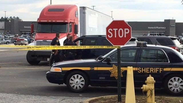 Deputies investigating after gunshot victim located at Walmart on Woodruff Rd. (11/25/17 FOX Carolina)