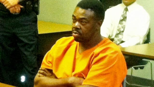 Adrian Keith Neil in arraignment Sept. 20, 2011. (FOX Carolina)