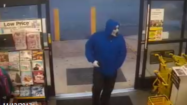 Deputies say this suspect took off with an undisclosed amount of cash from Dollar General. (Source: GCSO)