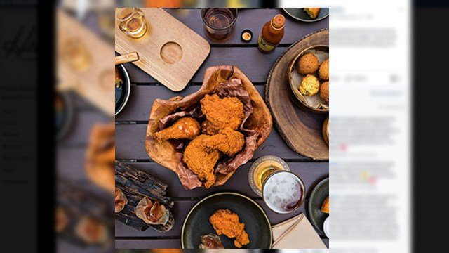 Food from Husk Charleston. (Source: Husk on Facebook)