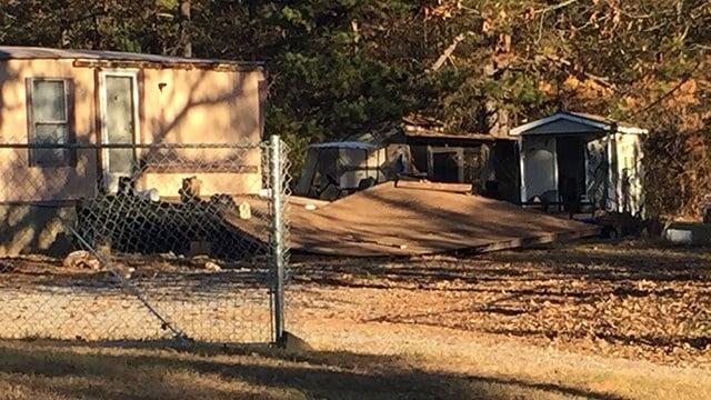 Porch collapse in Chesnee (Nov. 28, 2017/FOX Carolina)