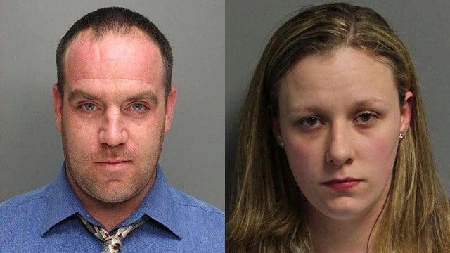 Erick Landon Hart (L) and Ashley Marie Gilstrap (R). (Source: SCDPPPS)