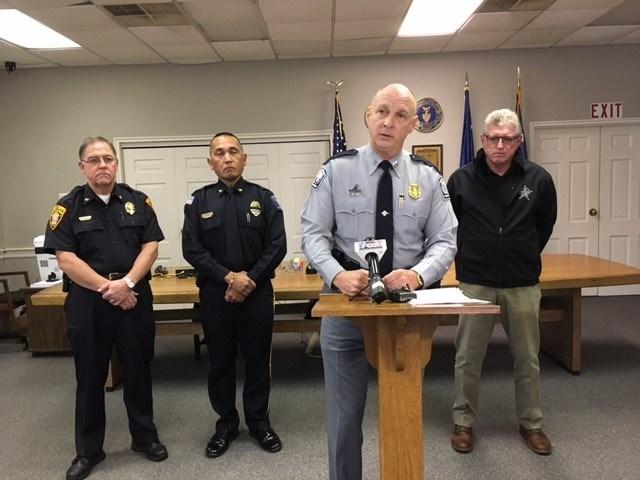 Law enforcement leaders in Laurens County (FOX Carolina/ Nov. 29, 2017)