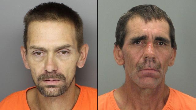 Robert Conrad, 37, and Christopher Lindsey, 42. (Greenville County Sheriff's Office)