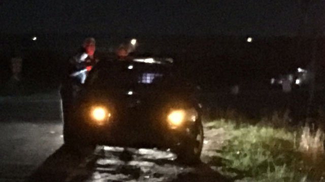 Scene of Cherokee Co. crash (FOX Carolina/ 11/29/17)