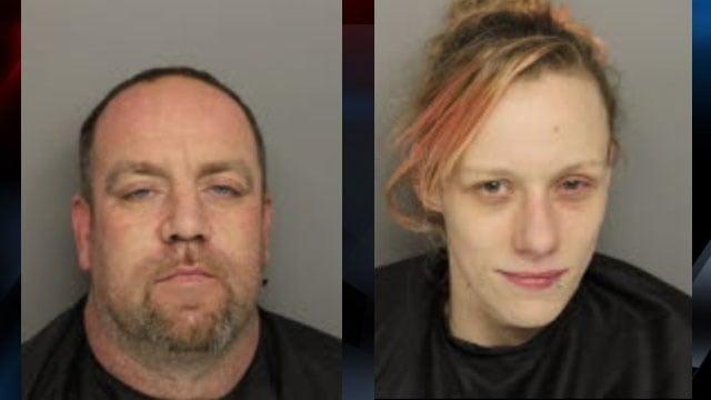 Erick Landon Hart (L) and Ashley Marie Gilstrap (R). (Source: Greenville County Detention Center)