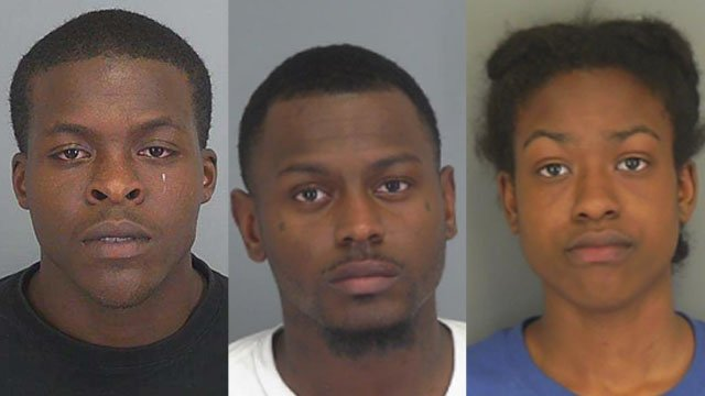 Derrick Bennett Jr., Jacory Foster, Nicole Foster (Source: SPD)
