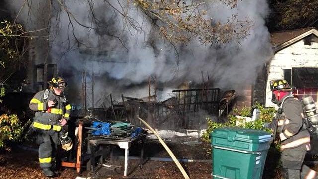 Kraft Street fire (Source: Gaffney PD)