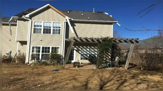 FOX Carolina employee reflects on damage left behind by Simpsonville 2016 tornado (Source: Alex Abbott).