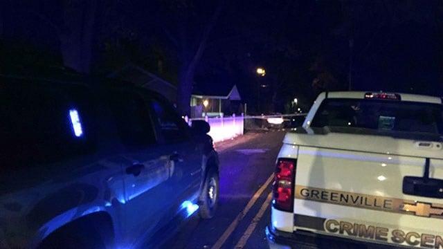 Scene of Greenville Co. shooting (FOX Carolina/ 11/30/17)