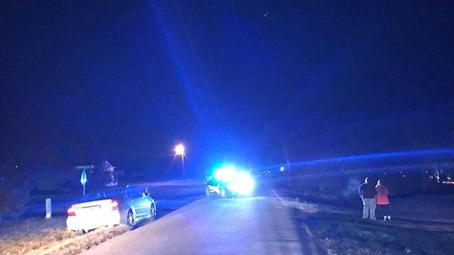 Scene of fatal dog attack in Gaffney (FOX Carolina/ 12/1/17)