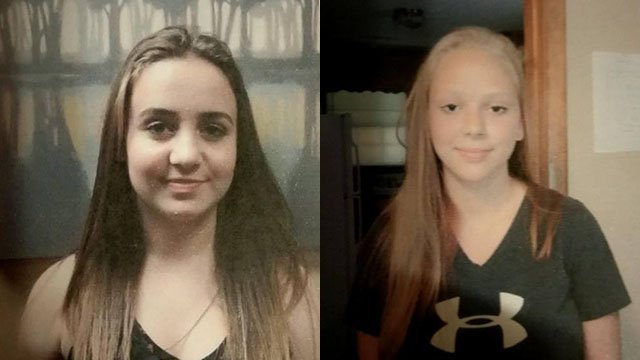 Lourdes Leidig (left), Alicia Earley (right) (FOX Carolina/12/2/17)