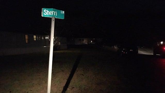 Sherri Lane in Liberty. (12/5/17 FOX Carolina)