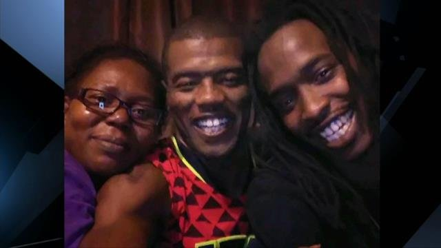 Jeremy Rucker (center) and family. (Source: Family)