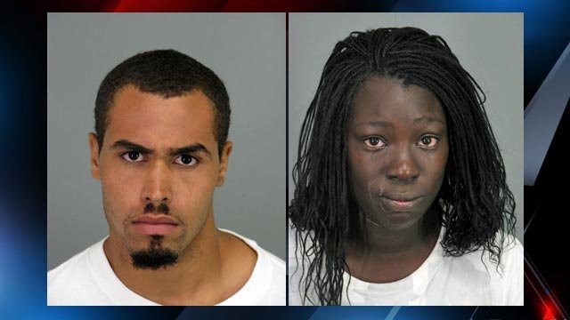 Cornelius Staggers, 20, and Gelisha Armstrong, 22. (Spartanburg County Detention Center)
