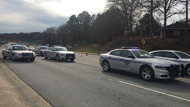 Fatal Augusta Road crash (Dec. 7, 2017/FOX Carolina)
