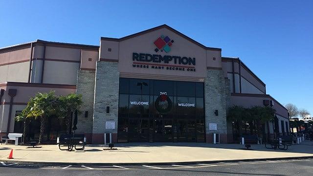 Redemption Church. (12/10/17 FOX Carolina)