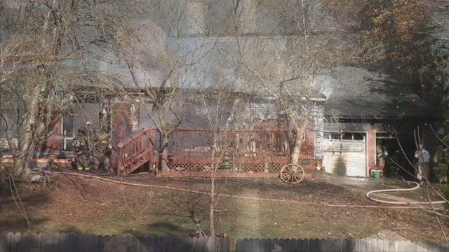 Fire destroys Greenville Co. home, injuring 3 firefighters, killing 4 pets