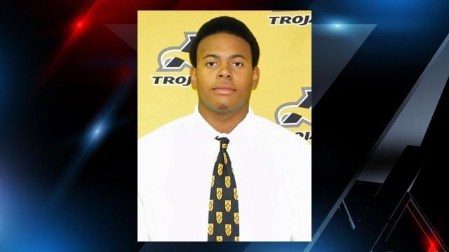 Lamar Jack, freshman basketball player for Anderson University. (Anderson University)