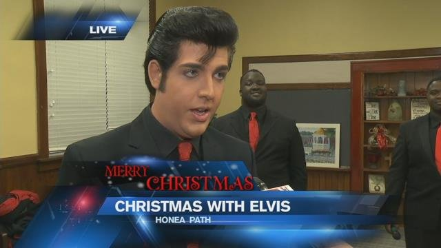 Elvis tribute artist prepares for Honea Path Christmas concert
