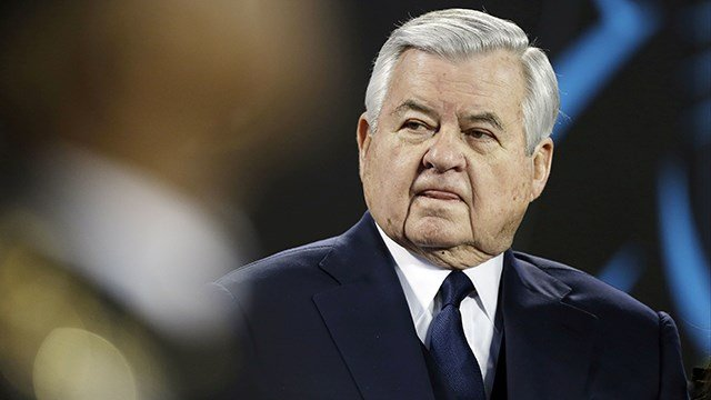 Carolina Panthers owner and founder Jerry Richardson (Source: Associated Press)