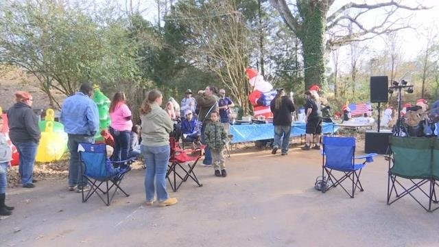 Greenville block party in honor of Korbin Williams (FOX Carolina)