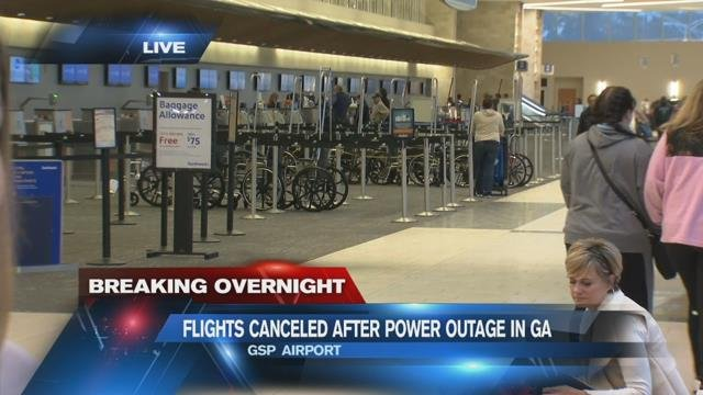 GSP feeling effects of ATL airport outage