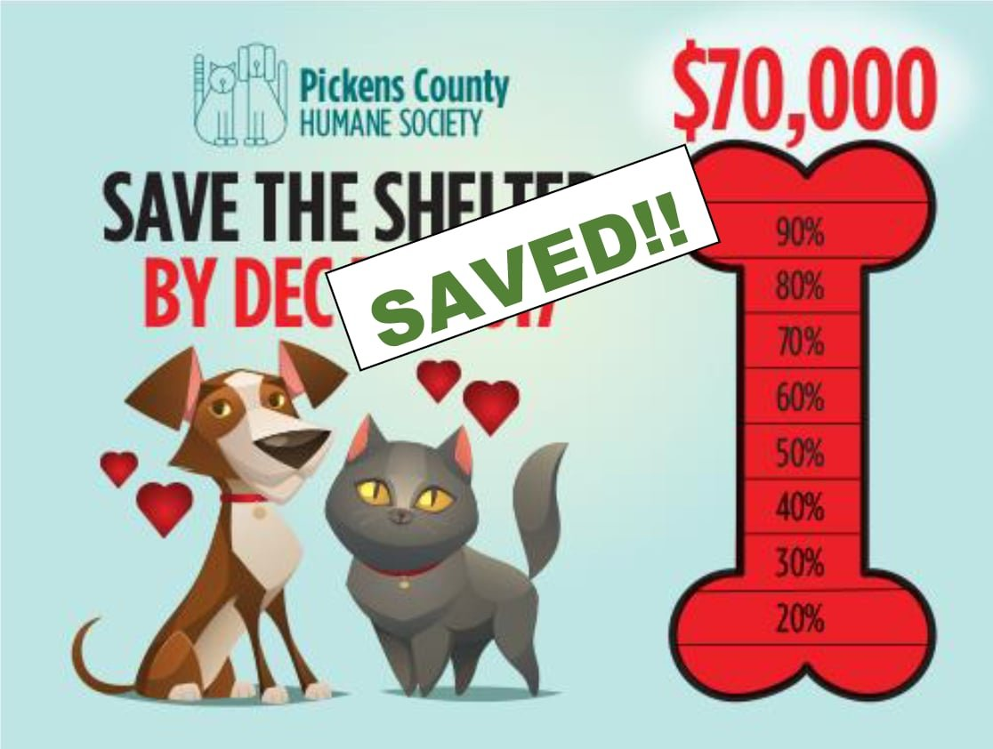 Courtesy: Pickens County Humane Society