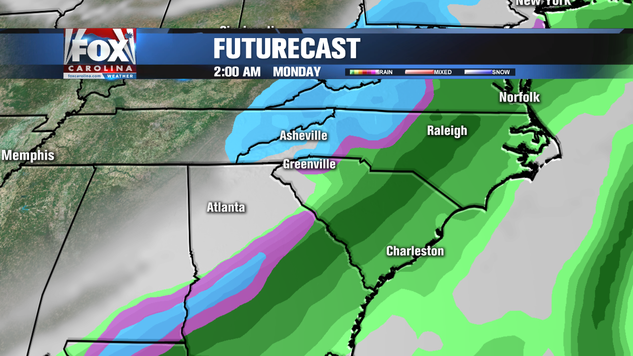 Warm-up expected for the end of the week before new cold front