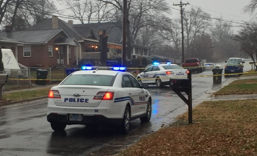Police investigate after one person was hurt on Briggs Ave. (Dec. 20, 2017)