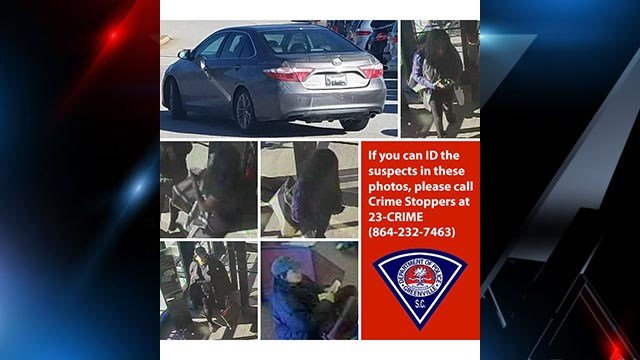 Greenville police seek two women in connection with purse snatching incident on Haywood Road. (Source: Greenville PD)