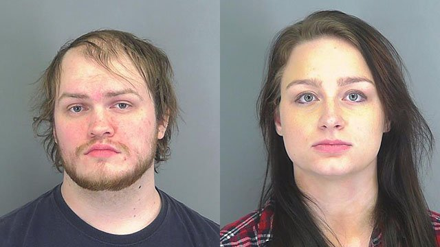 Nicholas Andrew McAllister (left) and Anastasia Marie McAllister (right) (Source: Spartanburg County Sheriff's Office)