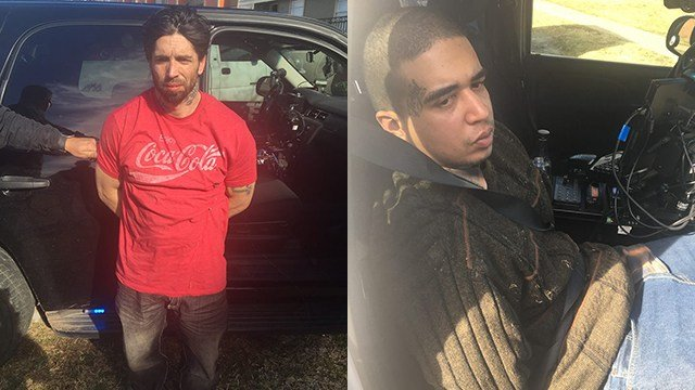 David Anderson and Ronly Pardo arrested in Oklahoma (Source: Washington County Sheriff's Office)