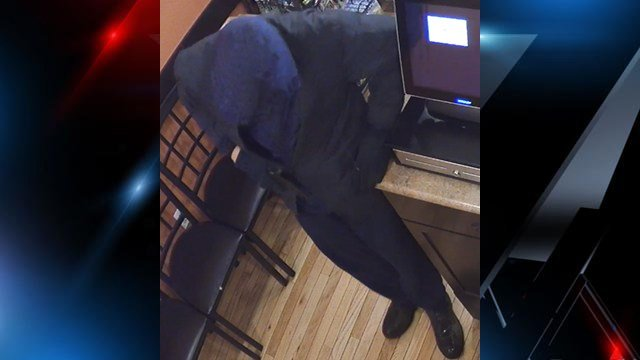 Blazer-clad armed robbery suspect (Source: Asheville PD)
