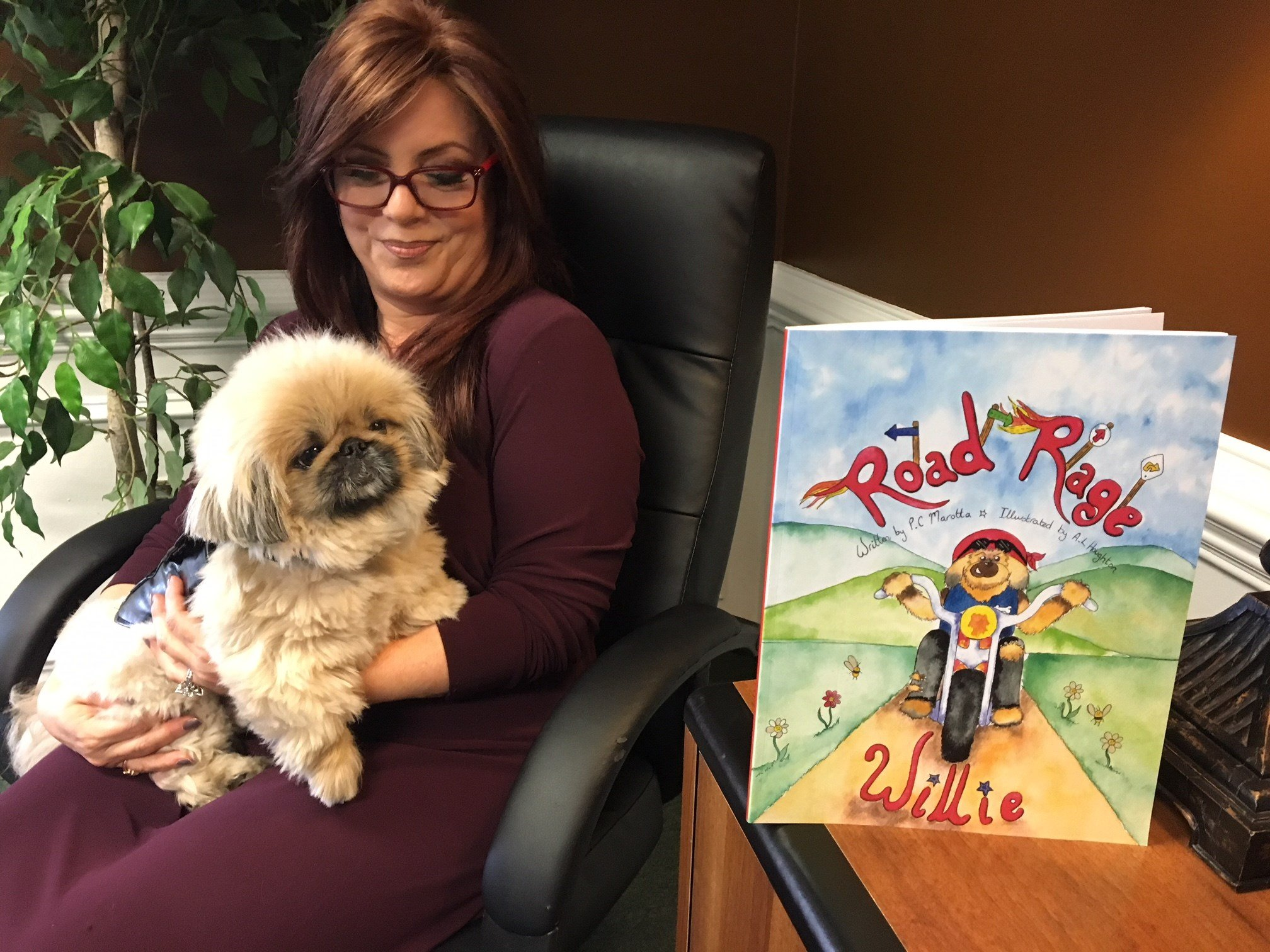 "Upstate author shows off ""Willie"" the inspiration behind children's book focused on bullying (FOX Carolina: 12/22/17)."