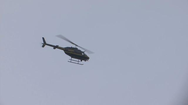 GCSO helicopter on scene after shots fired (Dec. 22, 2017/FOX Carolina)