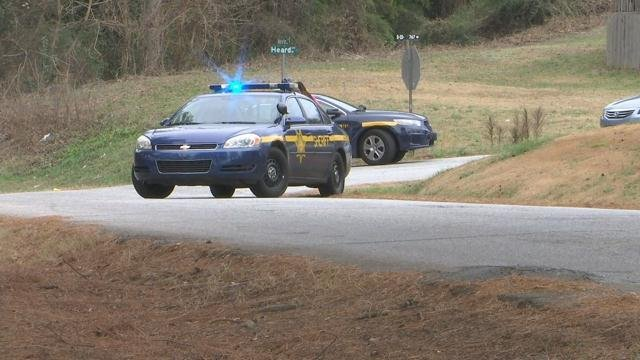 Deputies on scene after shots fired (Dec. 22, 2017/FOX Carolina)