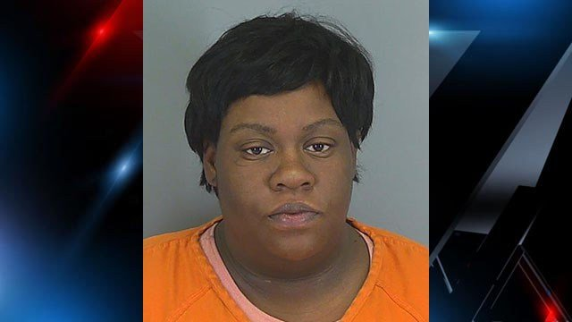 Candace Michele Robinson (Spartanburg County Sheriff's Office)