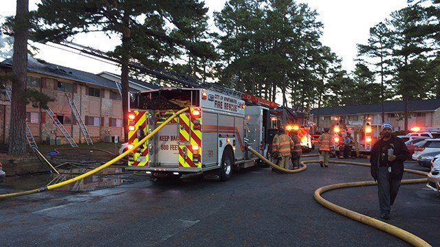 Two families displaced after mobile homes catch fire in northwest Charlotte