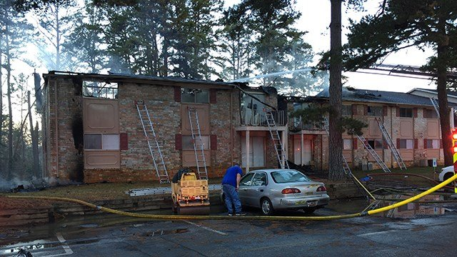 At least four displaced by Christmas morning fire