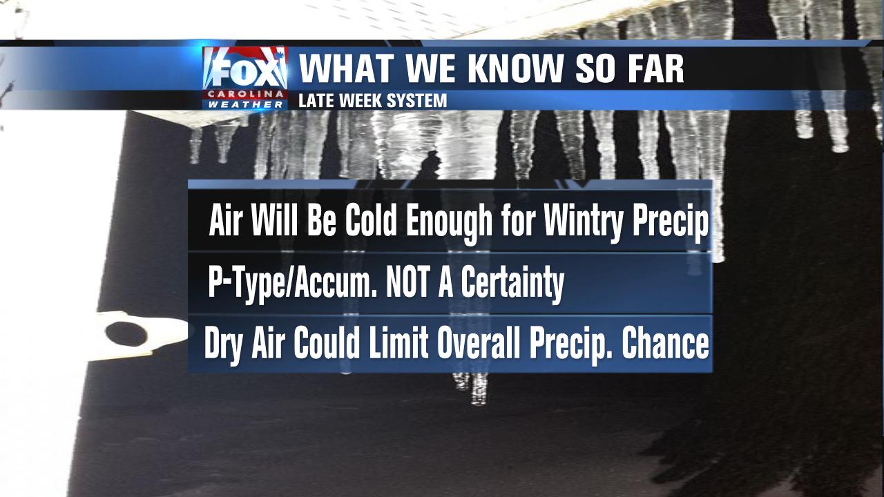 Winter weather chance this week fox carolina 21 kristyandbryce Gallery
